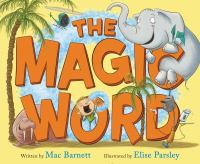 book jacket for The Magic Word