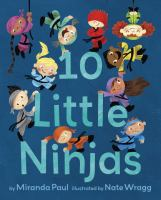 book jacket for 10 Little Ninjas