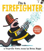book jacket for I'm a Firefighter