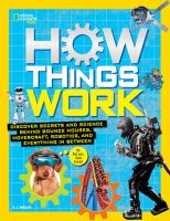 book jacket for How Things Work: Discover Secrets and Science Behind Bounce Houses, Hovercraft, Robotics, and Everything in Between