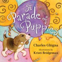 book jacket for A Parade of Puppies