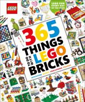 book jacket for 365 Things to Do With LEGO Bricks
