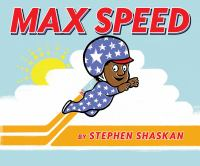 book jacket for Max Speed