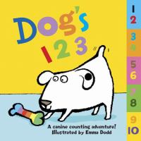 Dog's 1 2 3: A Canine Counting Adventure!