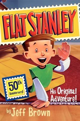Flat Stanley enters a room by slipping UNDER the door
