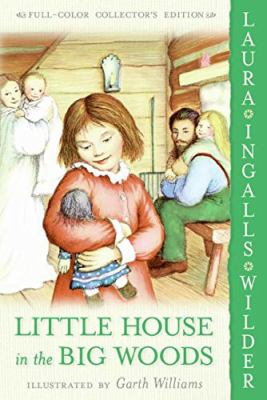Book cover of Little House in the Big Woods