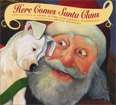 Book Cover: Here Comes Santa Claus