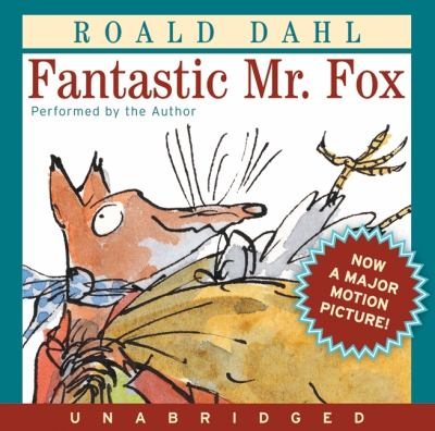 Cover of Fantastic Mr. Fox audiobook