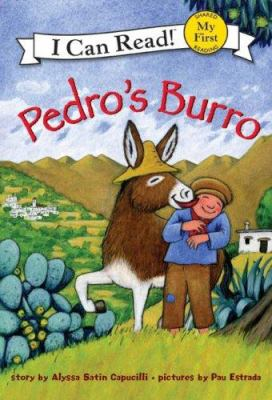 Book cover of Pedro's Burro