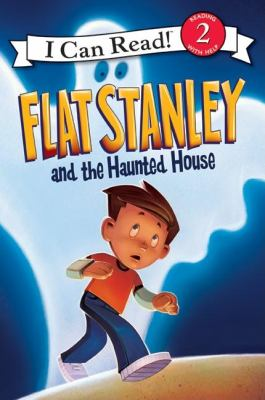 Book cover of Flat Stanley and the Haunted House.