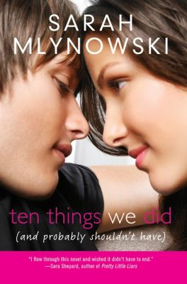 Cover of Ten Things We Did 