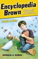 Cover of Encyclopedia Brown Cracks the Case