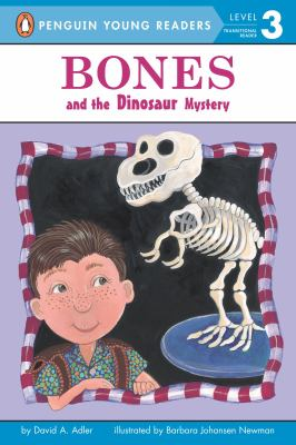 Book cover of Bones and the Dinosaur Mystery