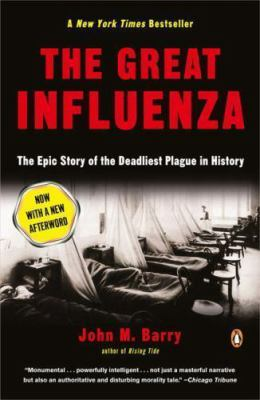 Book cover of The Great Influenza 