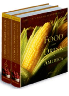 Book cover of Food and Drink in Amerca