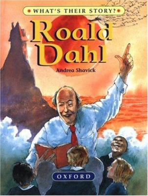 Book Cover: Roald Dahl, the Champion Storyteller by Andrea Shavick