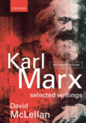 Book jacket image for: Karl Marx: Selected writings