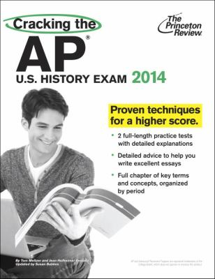 Cracking the AP U.S. History Exam 2014 cover