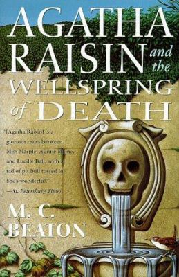 Book cover - Agatha Raisin and the Wellspring of Death