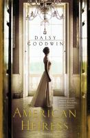 Book cover: american heiress