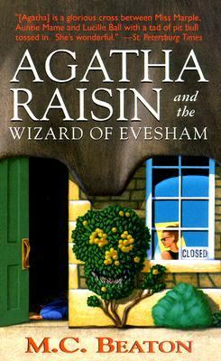 Book cover - Agatha Raisin and the Wizard of Evesham