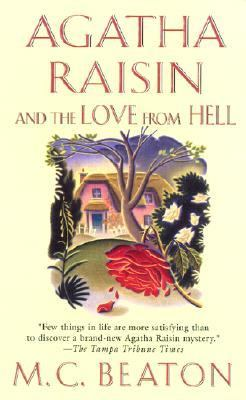 Book cover - Agatha Raisin and the Love from Hell