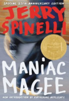 Book cover of Maniac Magee