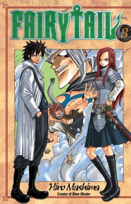 Book cover of Fairy Tail volume 3