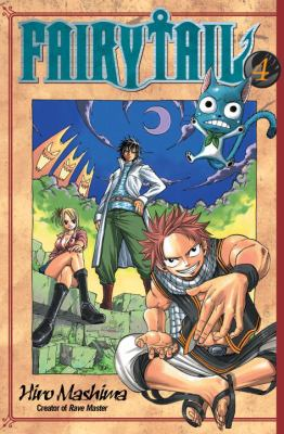 Book cover of Fairy Tail volume 4