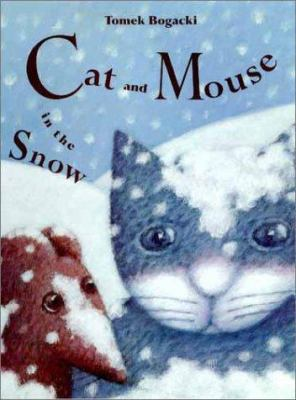 Book cover of Cat and Mouse in the Snow