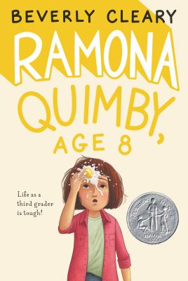 Book cover of Ramona Quimby, Age 8