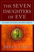 book cover: Seven daughters of Eve