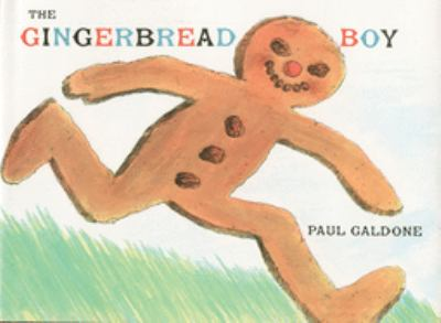 Book cover of The Gingerbread Boy