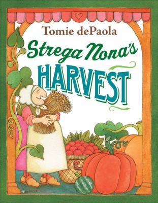 Strega Nona's Harvest Book Cover