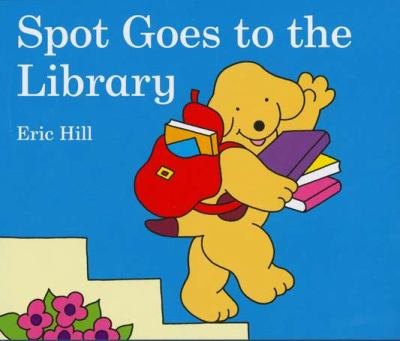 Book Cover: Spot Goes to the Library