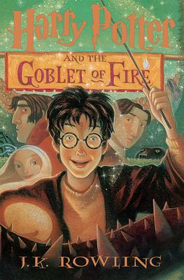 Cover art of Harry Potter and the Goblet of Fire