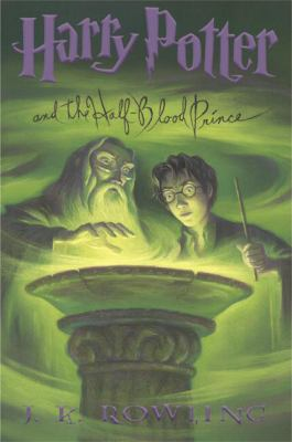 Cover art for Harry Potter and the Half-Blood Prince