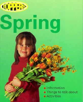 Book cover of Spring by Nicola Baxter