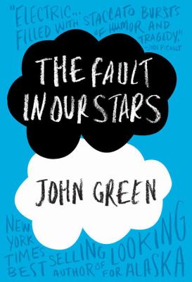 Book cover of the Fault in Our Stars