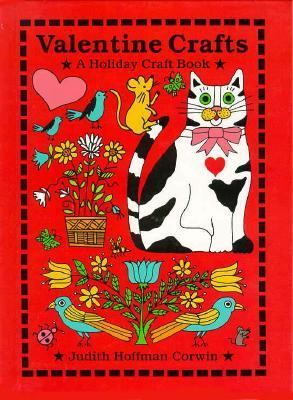 Cover of Valentine Crafts by Judith Corwin