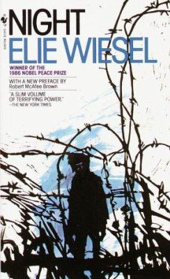 cover art image of Night by elie wiesel