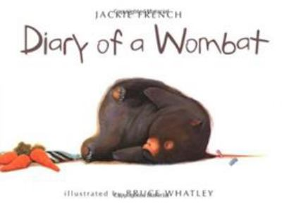 Book cover of The Diary of a Wombat