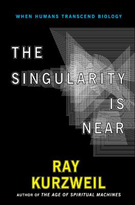 Book cover of The Singularity Is Near