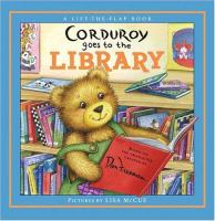 Corduroy Goes to the Library book cover
