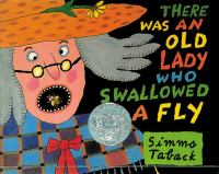 Book cover: There was an old lady who swallowed a fly