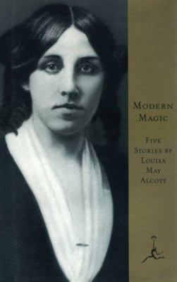Book cover: Modern magic by Louisa May Alcott