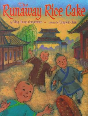 Book cover of Runaway Rice Cake