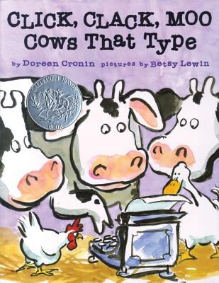Cover of Click Clack Moo: Cows that Type