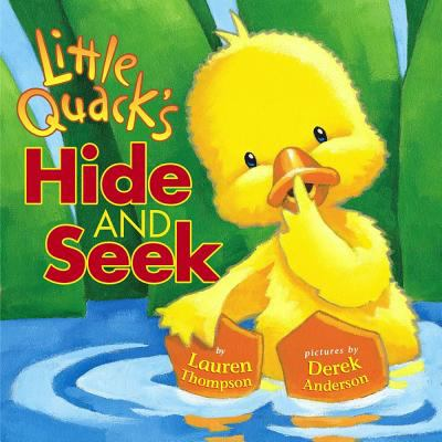Cover of Little Quack's Hide & Seek