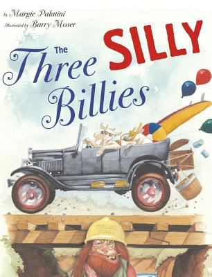 Book cover of The Three Silly Billies